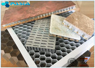 Non Perforated 5mm Side Length Aluminum Honeycomb Core Ceiling Composite Board