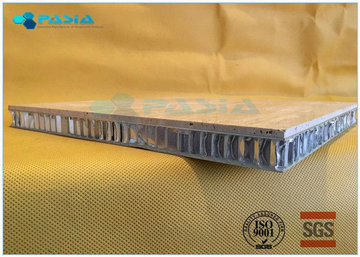 Travertine Stone Honeycomb Composite Sheets , Honeycomb