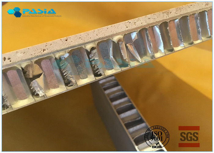 Water Jet Cut Marble Stone Honeycomb Mosaic Tile For Raised Floor Module