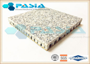 25mm Thickness Honeycomb Granite Panels , Thin Granite Panels 600*600mm2