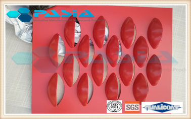 Fish Scale Pattern Perforated Aluminum Plate , Architectural Aluminum Panels