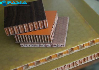 Fiberglass Surface Kevlar Honeycomb Panels , Airplane Kevlar Wall Panels